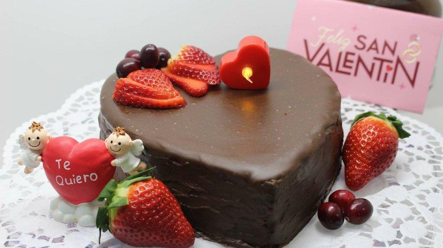 Corazón De Queso Con Chocolate Para San Valentín Cocina