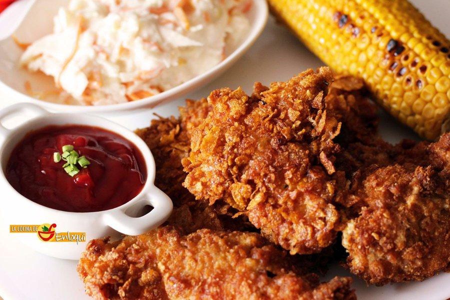 Pollo Frito Crujiente O Crispy Chicken Al Estilo Kfc Cocina