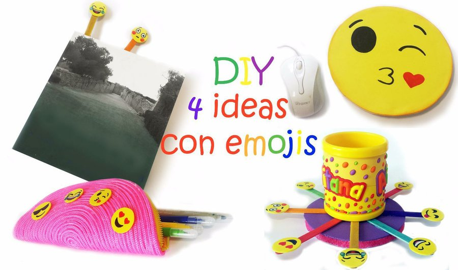 Emojis hechos con goma eva fciles y explicados paso a paso