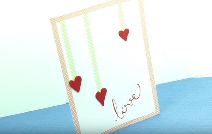 Cómo Hacer Una Tarjeta De Corazones Para El Día De La Madre