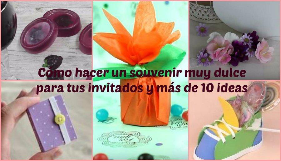 acbf952a7 Cajita regalo ideal para los souvenirs de los invitados