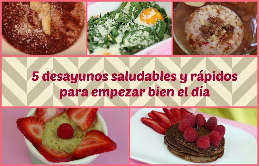 3 comidas saludables al día