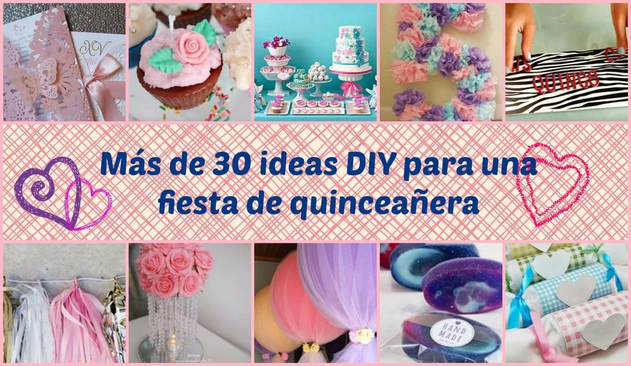 Mas De 30 Ideas Para Montar La Candy Bar Perfecta Manualidades - Diy-decoracion-cumpleaos