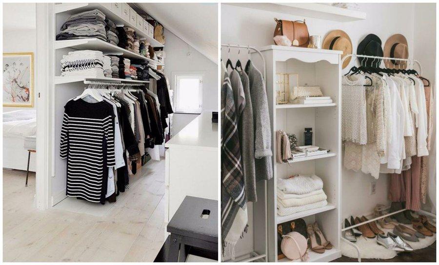 Apuesta por los armarios abiertos y ahorra en dinero y espacio bricolaje - Armarios abiertos ...