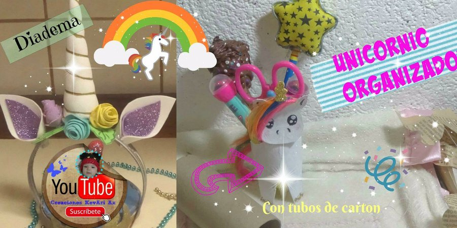 2 Ideas Super Faciles De Unicornio Manualidades