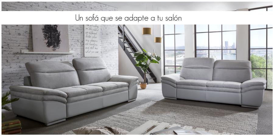 Qu tipo de sof elegir seg n la forma de tu sal n for Sofas cama de dos plazas precios