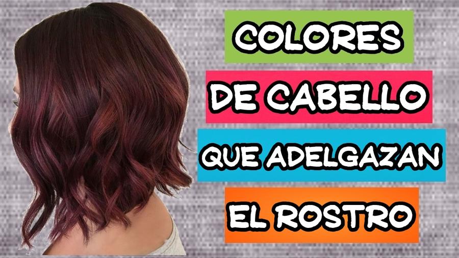 Color pelo segun forma cara