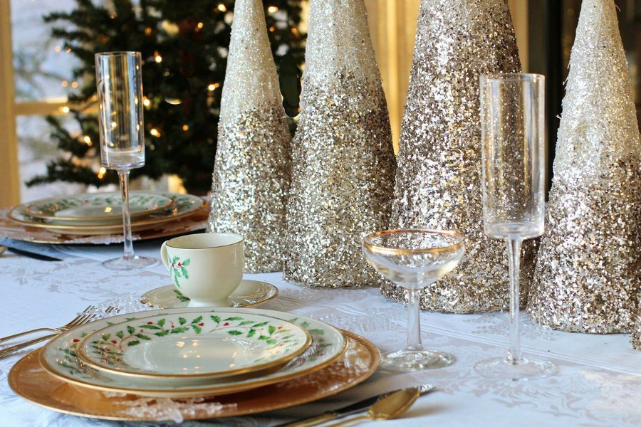 20 Ideas Diy Para Decorar Tu Mesa De Navidad Decoracion