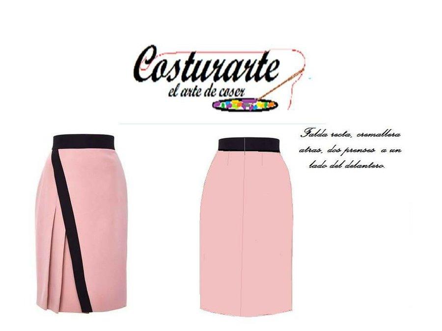 4747525cdb2 Cómo trazar una falda de diseño con prenses
