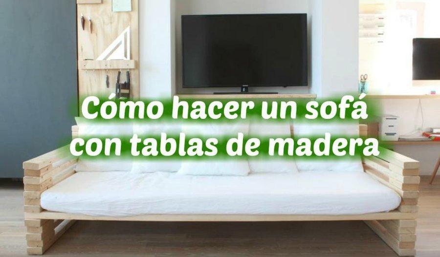 Crea tu propio sofá para exteriores | Bricolaje