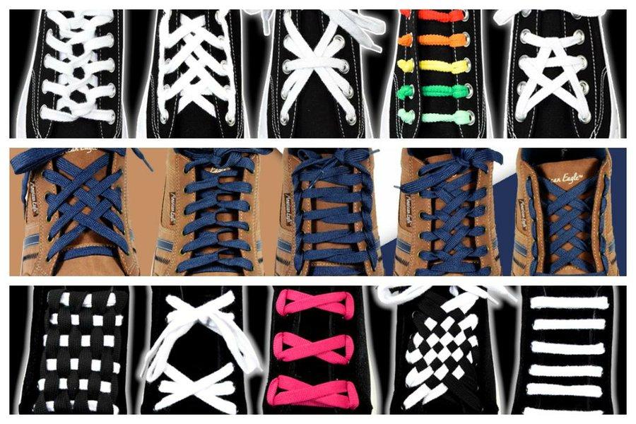 15 diseños para atar tus cordones | Manualidades