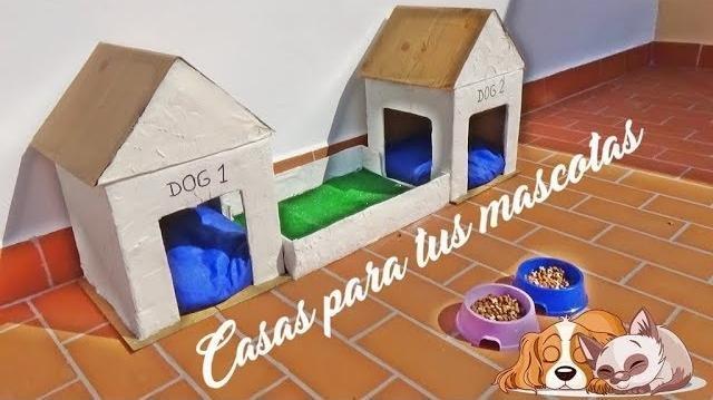 C mo hacer una casa para nuestros perros o gatos mascotas for Como hacer una laguna artificial para peces