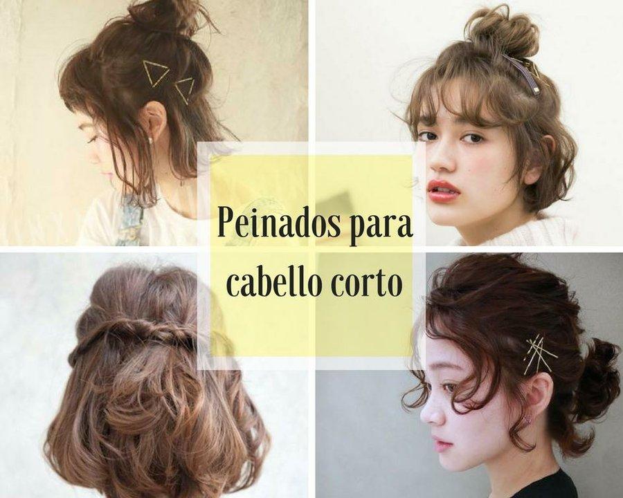4 Peinados Super Faciles Y Lindos Para Cabello Corto Paso A Paso