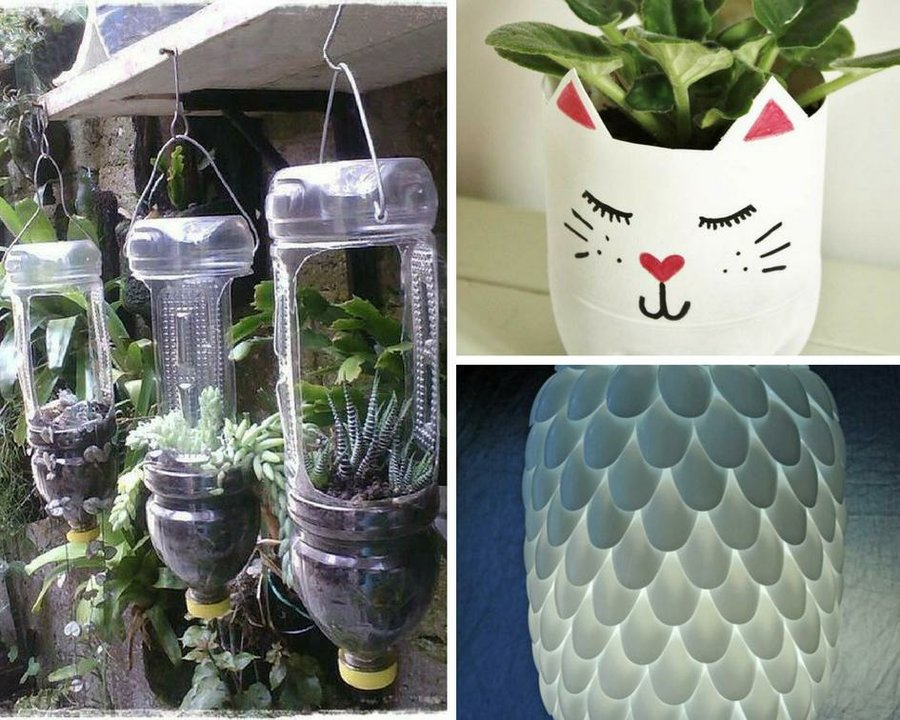 Ideas Para Reciclar Botellas Paso A Paso Manualidades