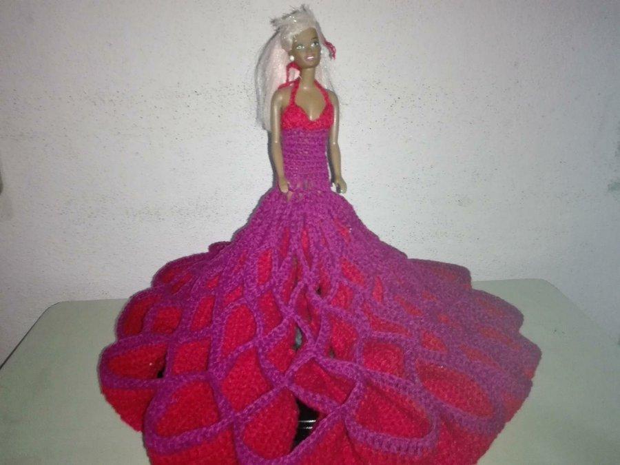 Cómo tejer un vestido a crochet para muñecas | Manualidades
