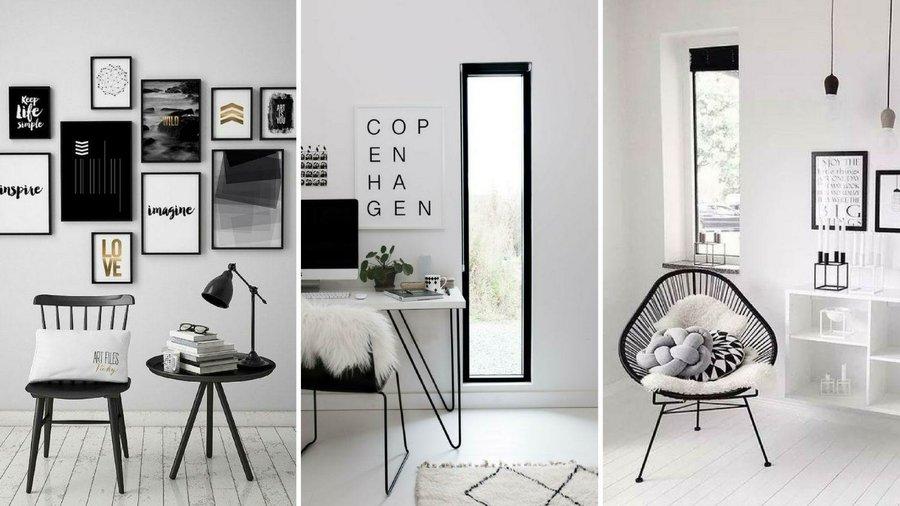 Ideas para decorar tu casa en blanco y negro decoraci n - Como cambiar de look en casa ...