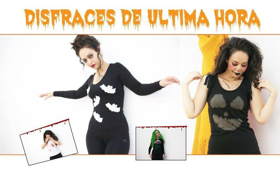 5 Disfraces Para Halloween De Ultimo Minuto Con Reciclaje Manualidades - Disfraces-caseros-ultima-hora