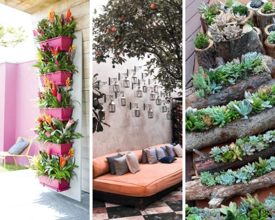 Ideas Originales Para Decorar Un Jardín Plantas