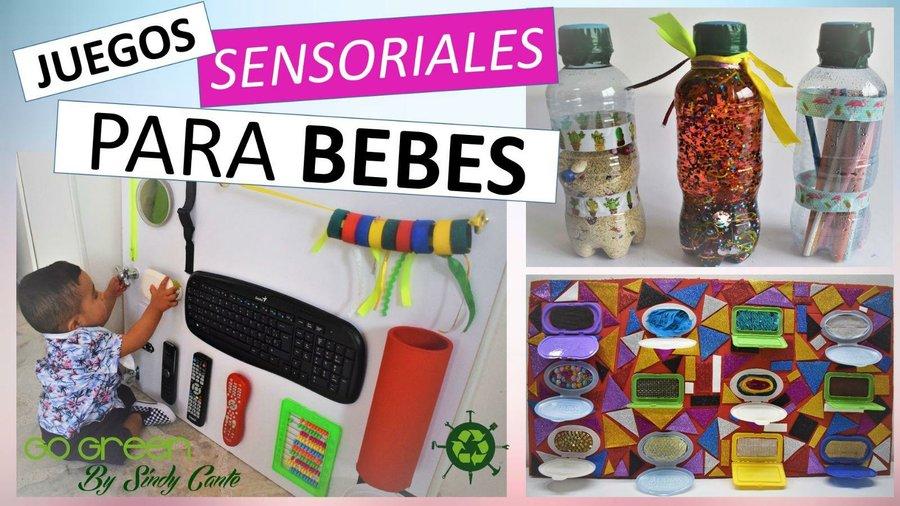 a9f44bd73 Aprende como hacer juegos sensoriales para tus bebes con cosas que ya  tienes en casa!