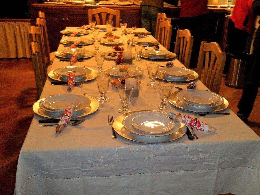 poner la mesa correctamente Cmo Preparar Una Mesa De Gala Decoracin
