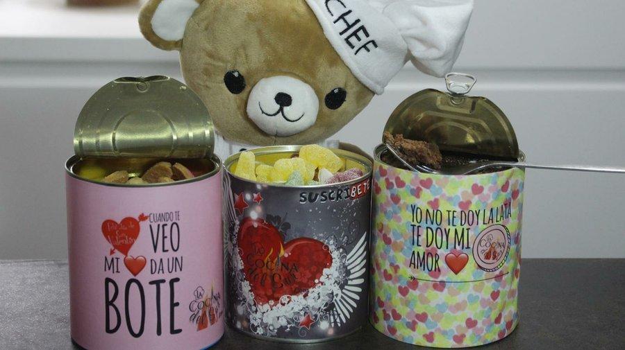 Regalos de san valentin en lata cocina - Cocina canal sur ...