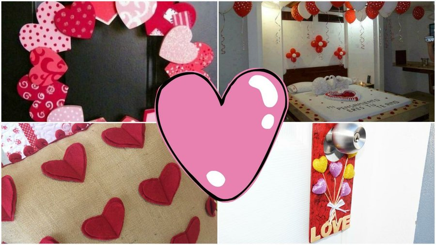 Ideas para decorar la habitaci n para san valent n - Como hacer adornos de san valentin ...