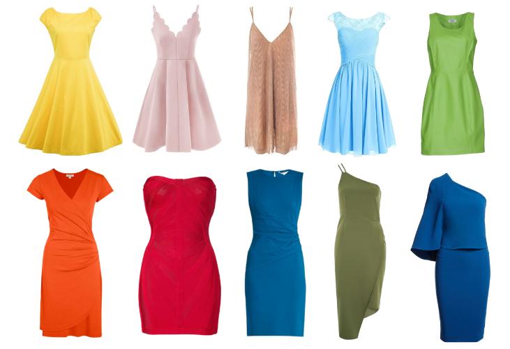 18f37133e3885 Los colores de moda para invitadas