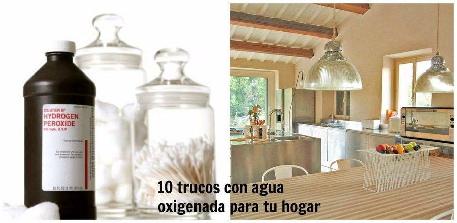 10 trucos con agua oxigenada para tu hogar decoraci n for Trucos para el hogar decoracion