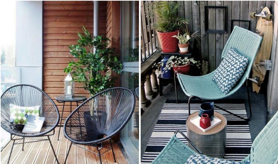 Balcones chulos - Muebles para terraza pequena ...