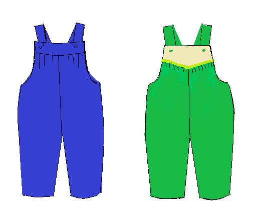 Patrón Pantalón Niña Tipo Overol Con Sus Trucos De Diseño