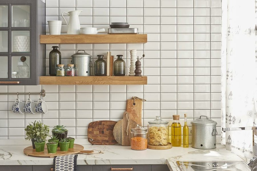 Grandes ideas para cocinas pequeas Decoracin
