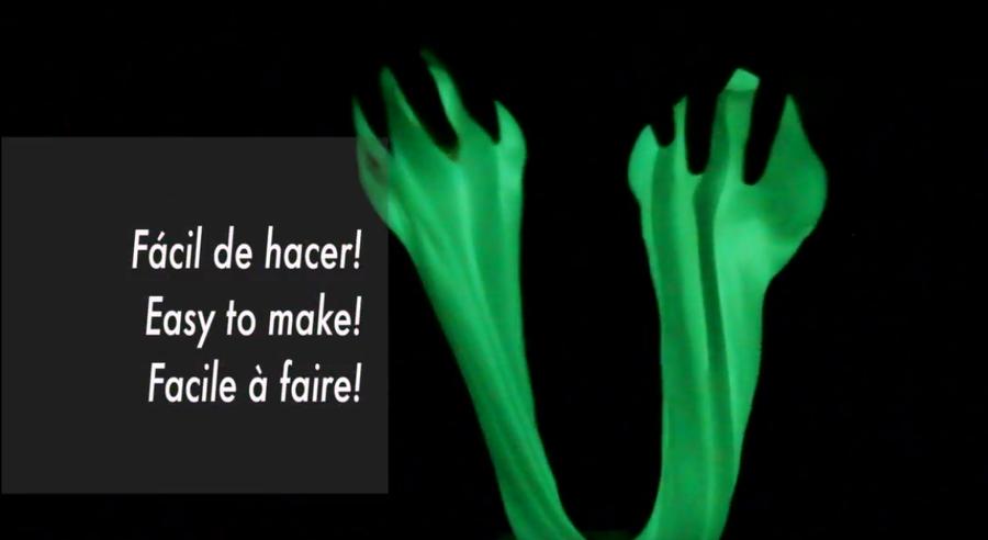 Cómo hacer slime fluorescente | Manualidades
