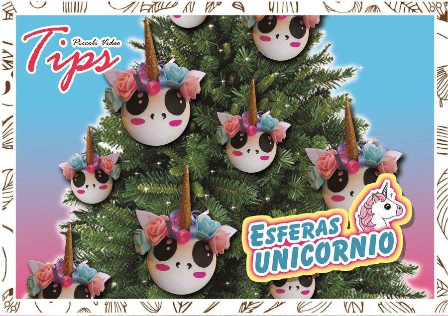Cómo Hacer Esferas Navideñas De Unicornio Manualidades