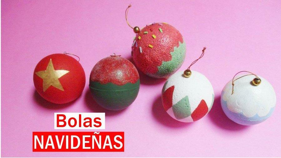 Bolas de navidad manualidades - Manualidades bolas de navidad ...