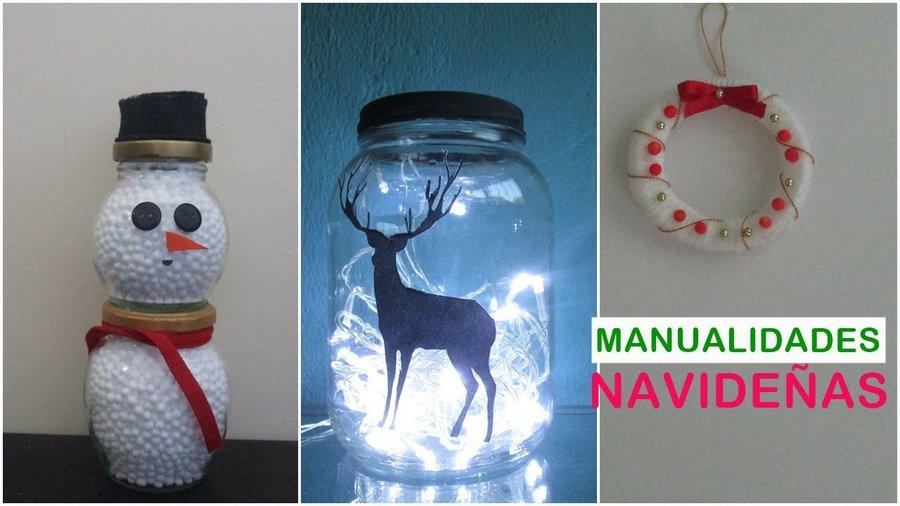 Manualidades Para El Hogar Navidad.3 Ideas Para Navidad Manualidades Navidenas Faciles De