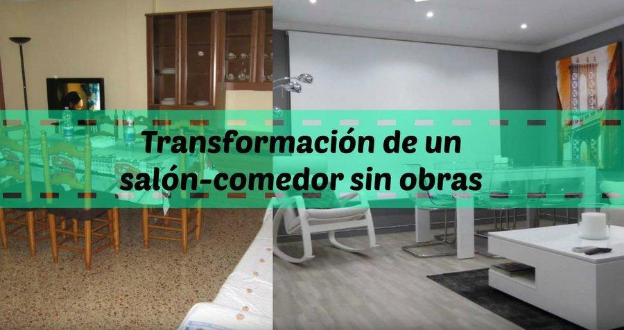 Transformación de un salón-comedor sin obras | Bricolaje