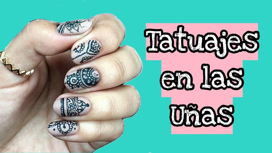 Tatuajes En Las Uñas La Nueva Tendencia En Instagram Belleza