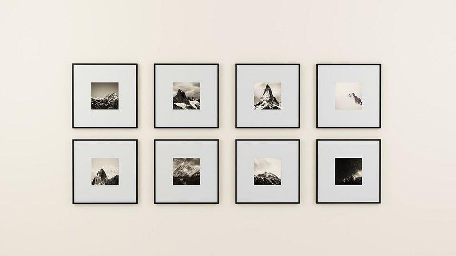 Ideas para decorar con marcos de fotos | Decoración