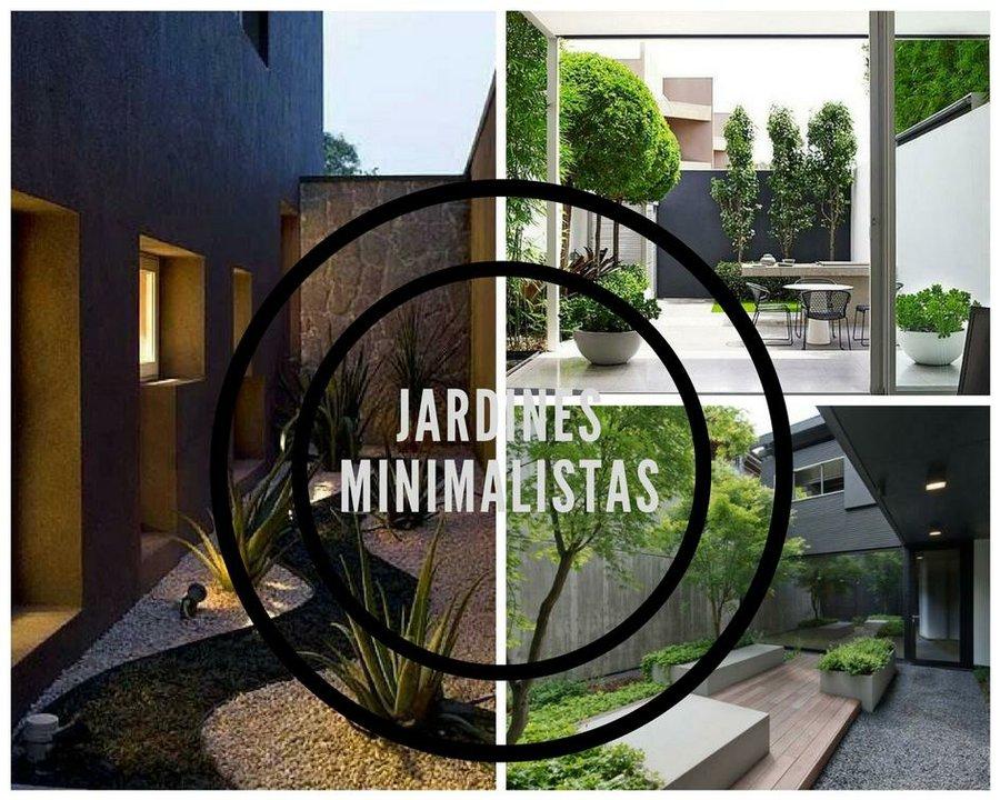 Ideas Para Crear Un Jardin Minimalista Decoracion - Jardin-minimalista