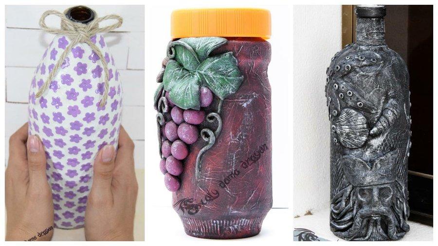 3 Ideas Para Decorar Botellas De Vidrio Manualidades