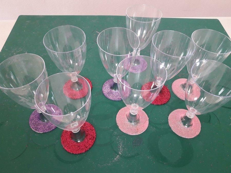 Copas De Plastico Decoradas Para Fiestas Manualidades - Decorados-para-fiestas