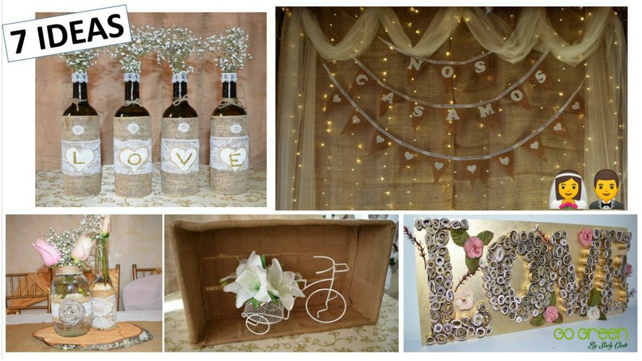 7 ideas f ciles y econ micas para decorar una boda for Decoraciones faciles y economicas