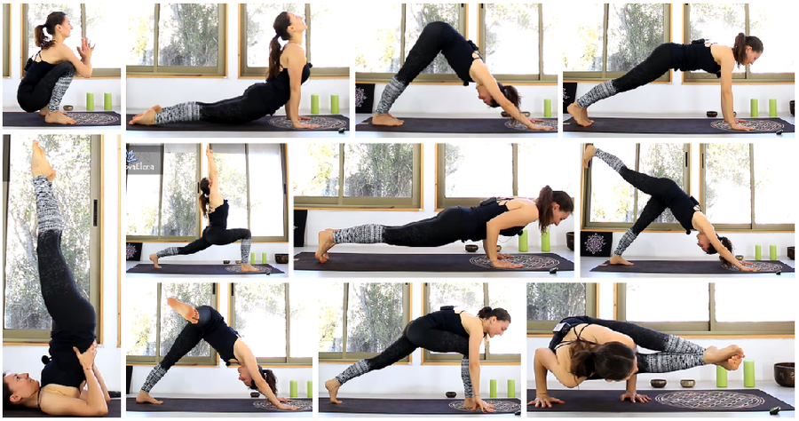 Rutina de ejercicios de yoga para adelgazar