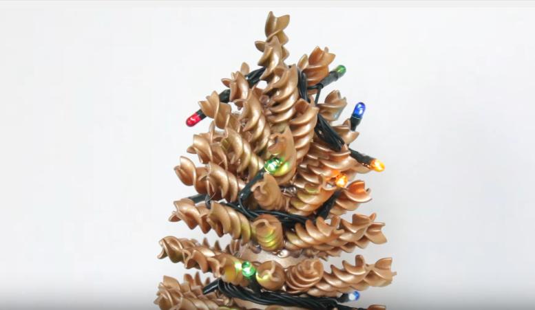 cmo hacer arbol de navidad casero - Arbol De Navidad Casero