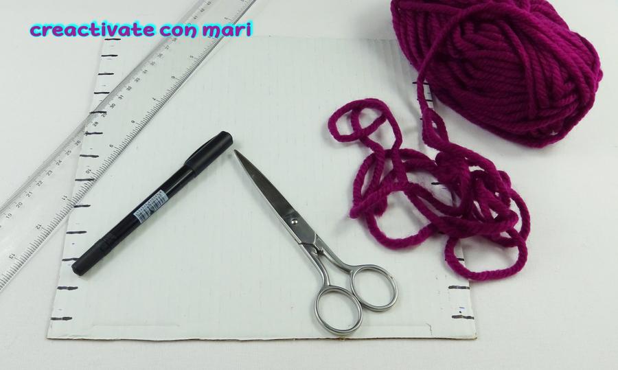 Cómo tejer gorros de lana con cartón | Manualidades