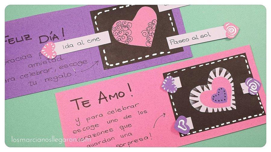 Una Tarjeta De Felicitación Con Sorpresa Para San Valentín