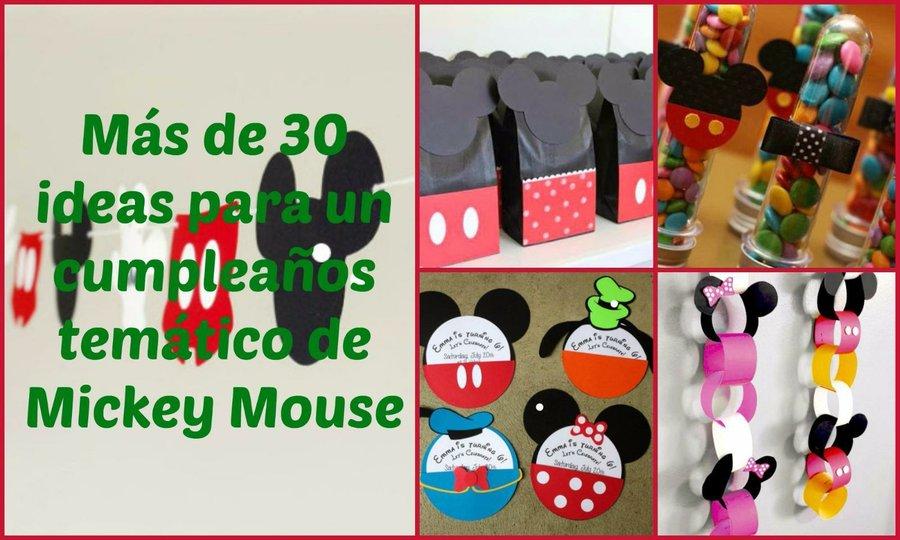 Feliz cumpleanos la casa de mickey mouse