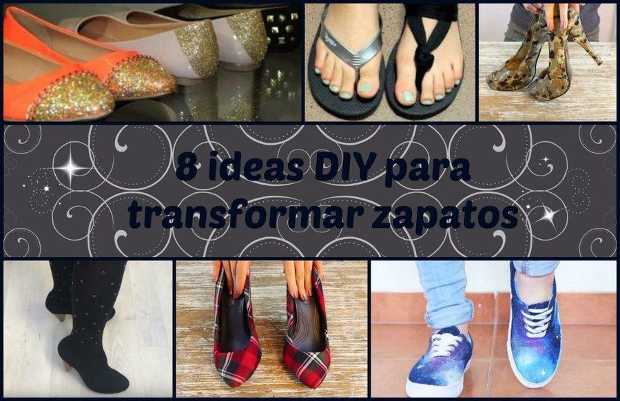 Ideas Manualidades Para 8 Transformar Zapatos Diy CdqTF