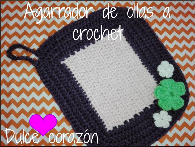 Agarrador de ollas a crochet | Manualidades