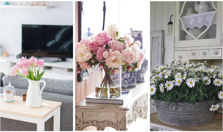 Decorar con flores for Casa hogar decoracion